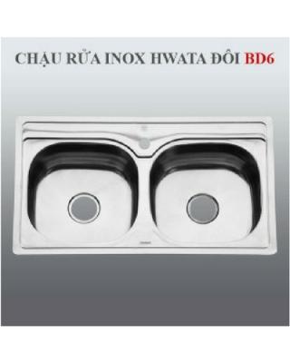 Chậu rửa inox Hwata BD6