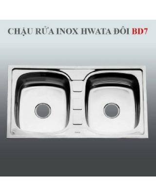 Chậu rửa inox Hwata BD7